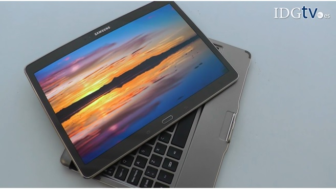 Video an�lisis de Galaxy Tab S