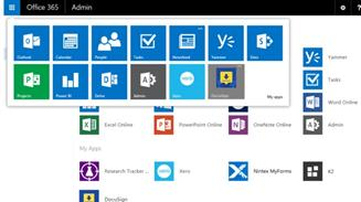 Office 365 extensiones