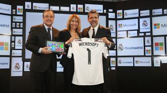 Real Madrid-Microsoft
