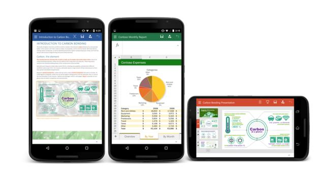 Office para tel�fonos Android