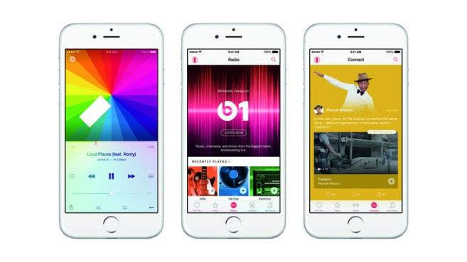 iPhone6 con Apple Music