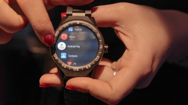 TAG Heuer smartwatch con Android Wear