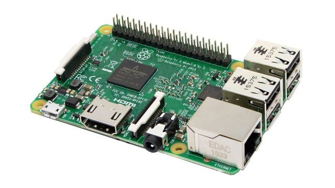 Raspberry Pi 3 placa base