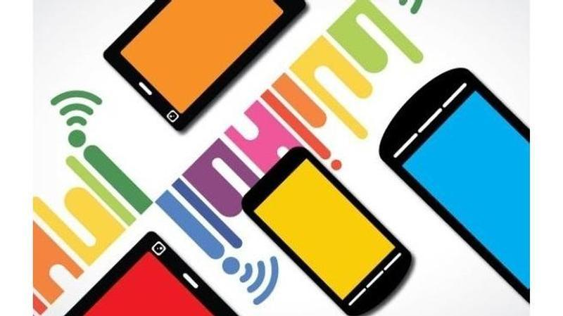 smartphones colorful 100027596 large
