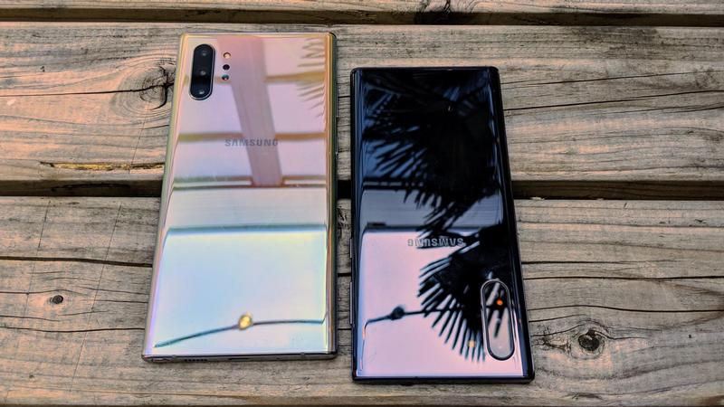 galaxy note 10 vs galaxy note 10 plus review