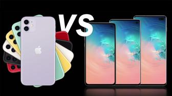 Qué smartphone es mejor: iPhone 11 vs Samsung Galaxy S10