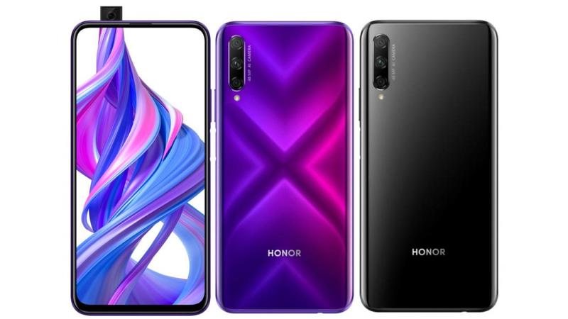 honor 9x pro frontal