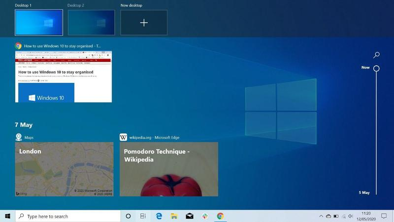 how to use task view windows 10