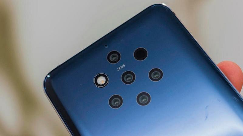 nokia 9 pureview camera