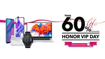 HONOR VIP DAY: Descuentos de hasta el 60 % en productos Honor