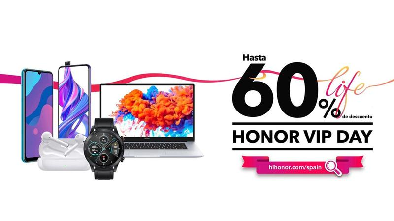 HONOR VIP DAY: Up to 60% discounts on Honor products