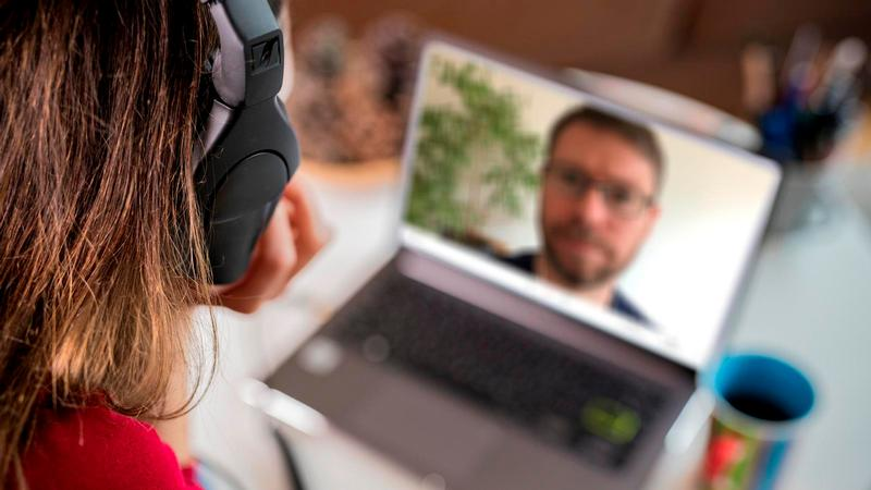 working home video call 10