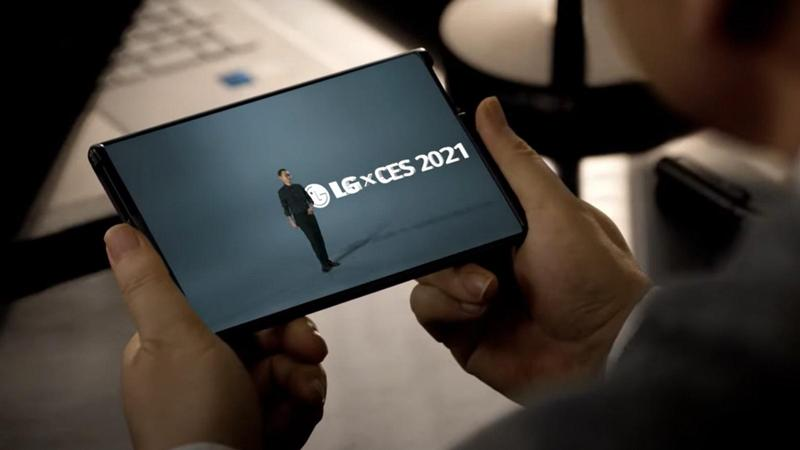 lg rollable ces2021