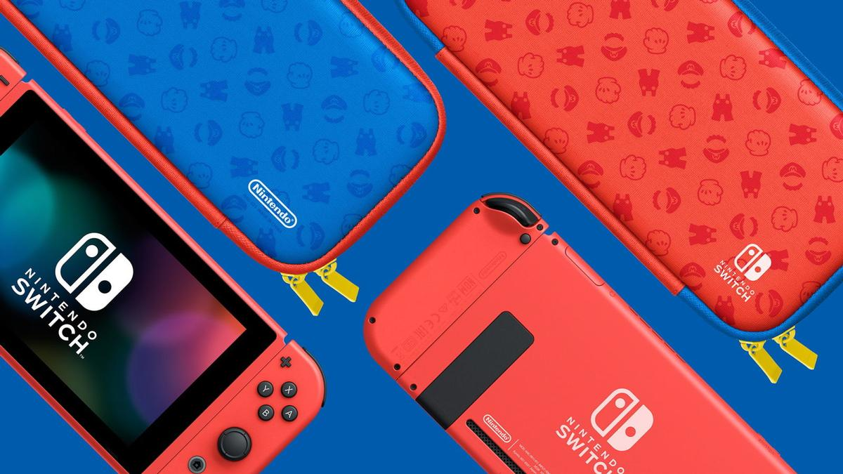 Nintendo Switch Mario fundas