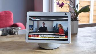 amazon echo show 10 review sky news