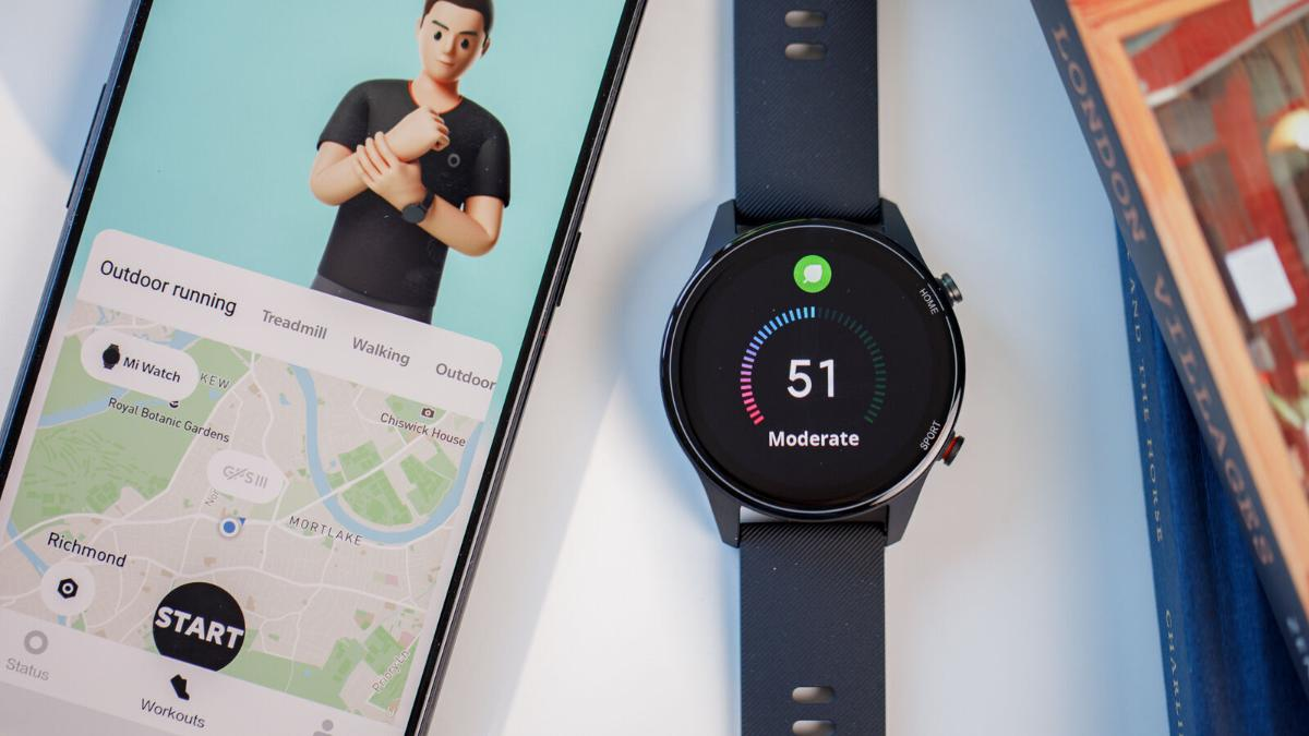 Xiaomi Mi Watch uso GPS