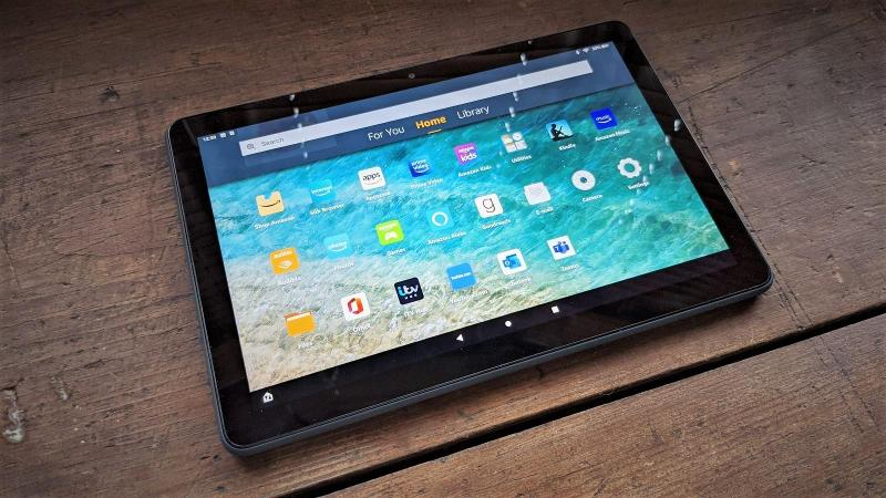 review amazon fire hd 10 2021
