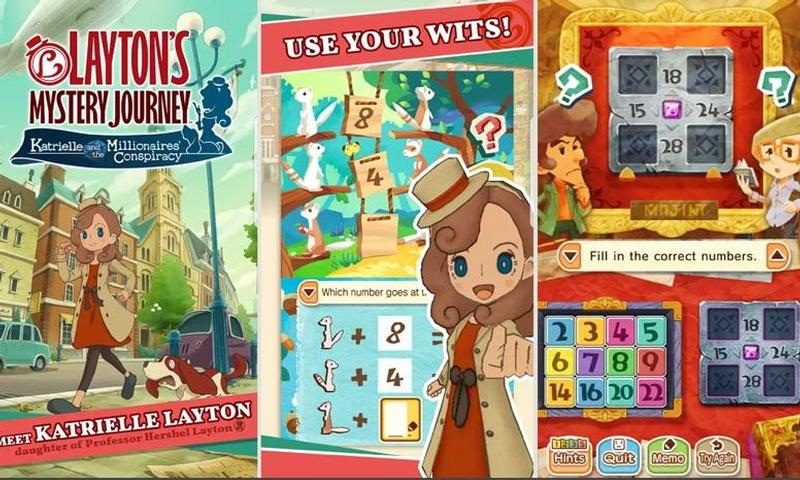 Layton's Mysterious Journey