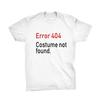 disfraces halloween camiseta error 404